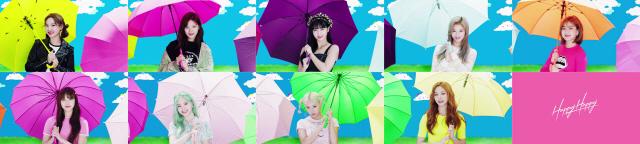 트와이스, 7월 공개 일본 싱글 4,5집 라인뮤직 1,2위..완벽한 반전美