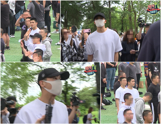 '섹션TV 연예통신' 박형식, '진짜' 입대 현장 공개..논산훈련소 입소