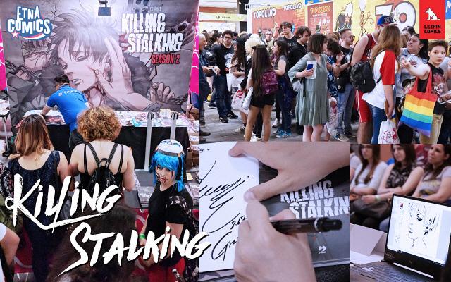 레진코믹스 K웹툰 '킬링 스토킹', 이탈리아 '에트나 코믹스' 서 뜨거운 호응