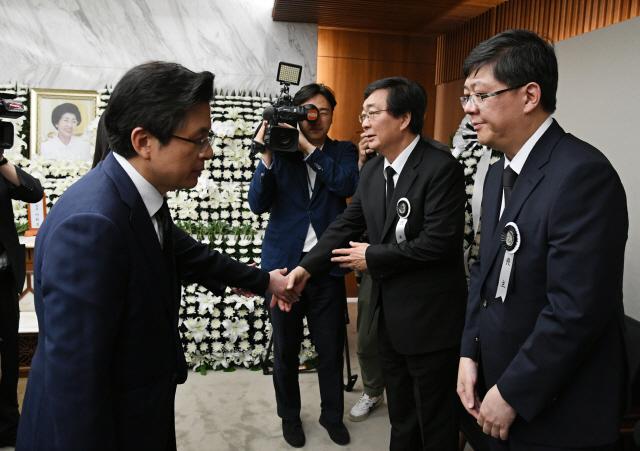 김홍걸 '北 조문단, 남북관계 풀 수 있는 계기 됐을 것'