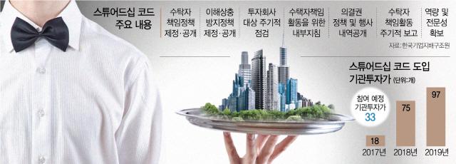 '스튜어드십 코드' 도입 100곳 눈앞…기관 목청 더 커진다