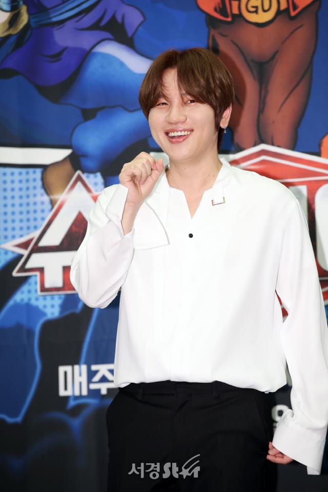 케이윌, 심쿵 미소 (슈퍼히어러 제작발표회)