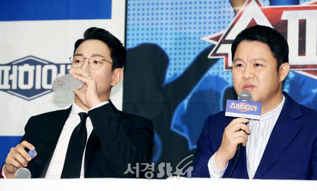장성규-김구라, 예능대세 MC (슈퍼히어러 제작발표회)