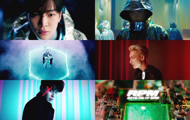 SF9, 신곡 'RPM' MV 티저 공개..초현실 비주얼+웅장한 스케일