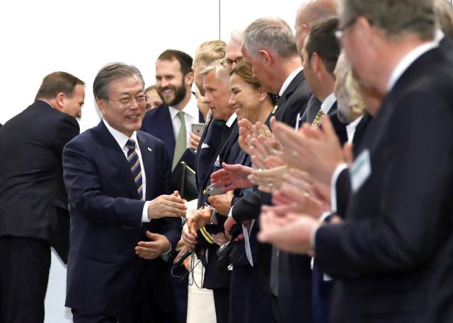 '한국통' 스웨덴 제약사 회장, 文 방문 계기 통큰 투자