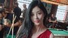 서동주 S라인 대박 몸매, 섹시 폭발 레드 드레스 자태 공개