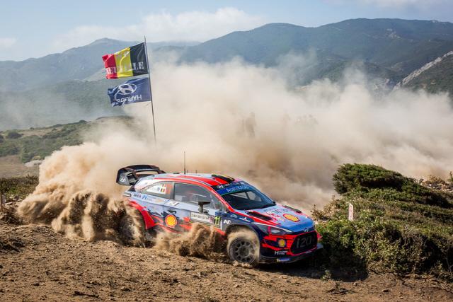 '종합 1위 보인다'…현대차 월드랠리팀 2019 WRC 세 번째 우승 '질주'
