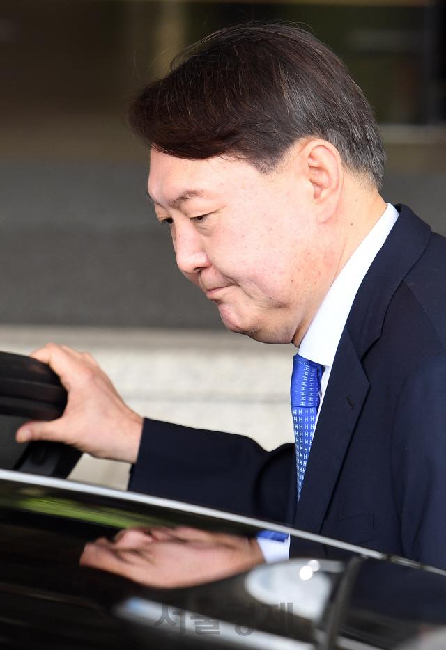검찰총장 후보자로 지명된 윤석열 서울중앙지검장