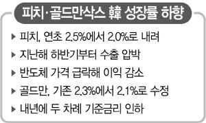 피치 '2.0%'…韓 성장전망 대폭 하향