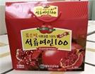 식약처, 납기준 초과 검출 '붉은빛 석류여인 100' 제품 회수