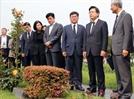 """2차 장외투쟁 나선 黃...부산 찾아 """"文정부 경제폭정 막겠다"""""""