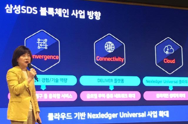 삼성SDS 3C로 기업의 블록체인 활용도 높이겠다