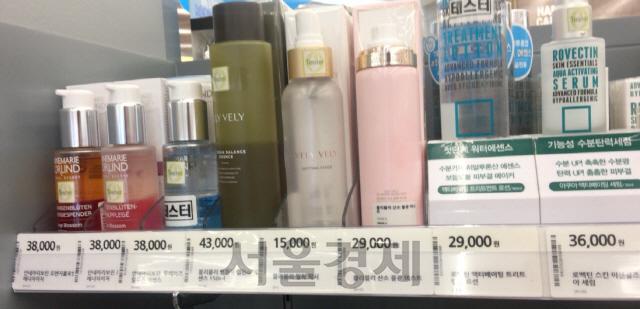 '블리블리 화장품' 올리브영 매장서 여전히 판매