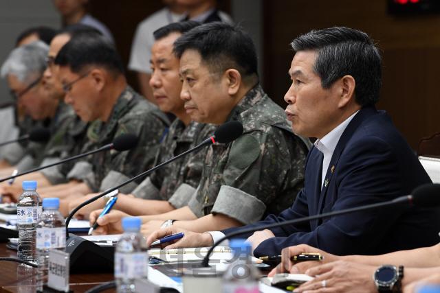 野 '대한민국 안보, 어민이 지켜'...國調·국방장관 사퇴 공세