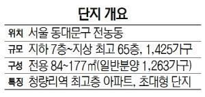 [눈길 끄는 분양단지] 롯데건설 '청량리역 롯데캐슬 스카이-L65'
