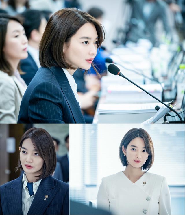 '보좌관' 신민아, 성공적인 연기 변신..180도 다른 매력
