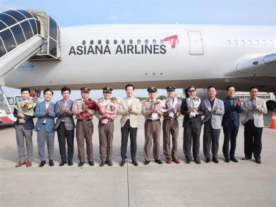 아시아나항공, '꿈의 항공기' A350 9호기 전격 도입…최첨단 성능 살펴보니