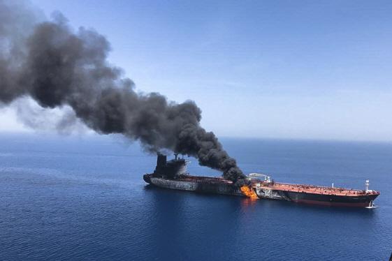 이란혁명수비대 '美 드론 격추'…군사 긴장 고조