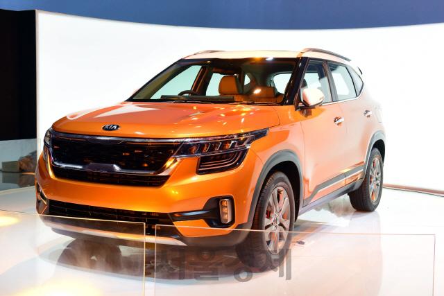기아차, 인도에서 소형 SUV 셀토스 최초 공개