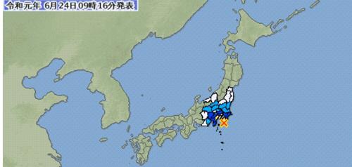'불의 고리' 꿈틀대나…日 도쿄 인근서 규모 5.5 지진 발생(종합)