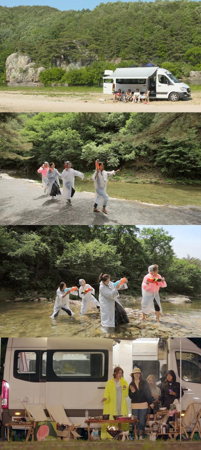 [공식] 핑클 완전체가 뭉쳤다... '캠핑클럽' 7월 14일(일) 첫 방송 확정