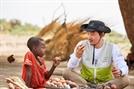 김승수, 아프리카의 차드 아동 돕기 위한 봉사활동 다녀와
