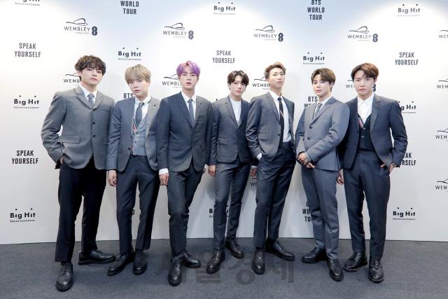 BTS, 韓 가수 앨범 판매 신기록 세우며 기네스 등재