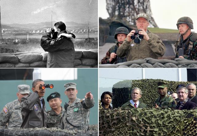 트럼프 북한땅 밟는 첫 美 정상되나...'DMZ 월경도 문제 없다'