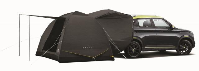 현대차 베뉴 '트렁크-텐트 합체도 돼요'