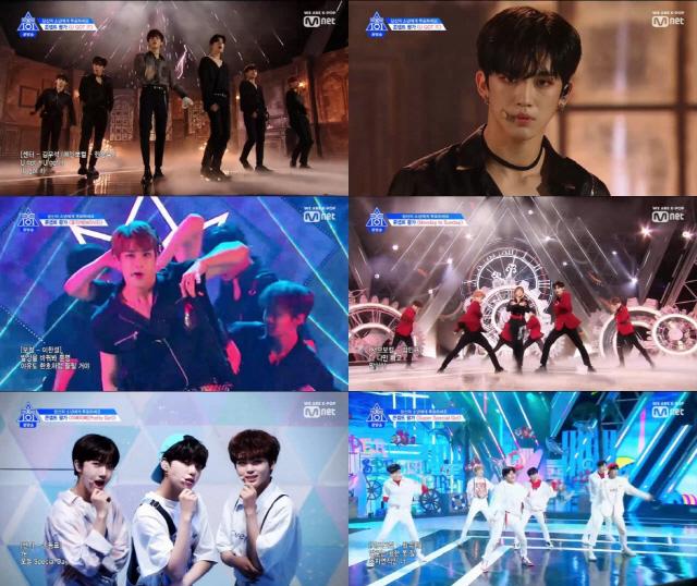 '프로듀스 X 101' 조승연·한승우 등 10대, 20대 실시간 검색어 순위 장악