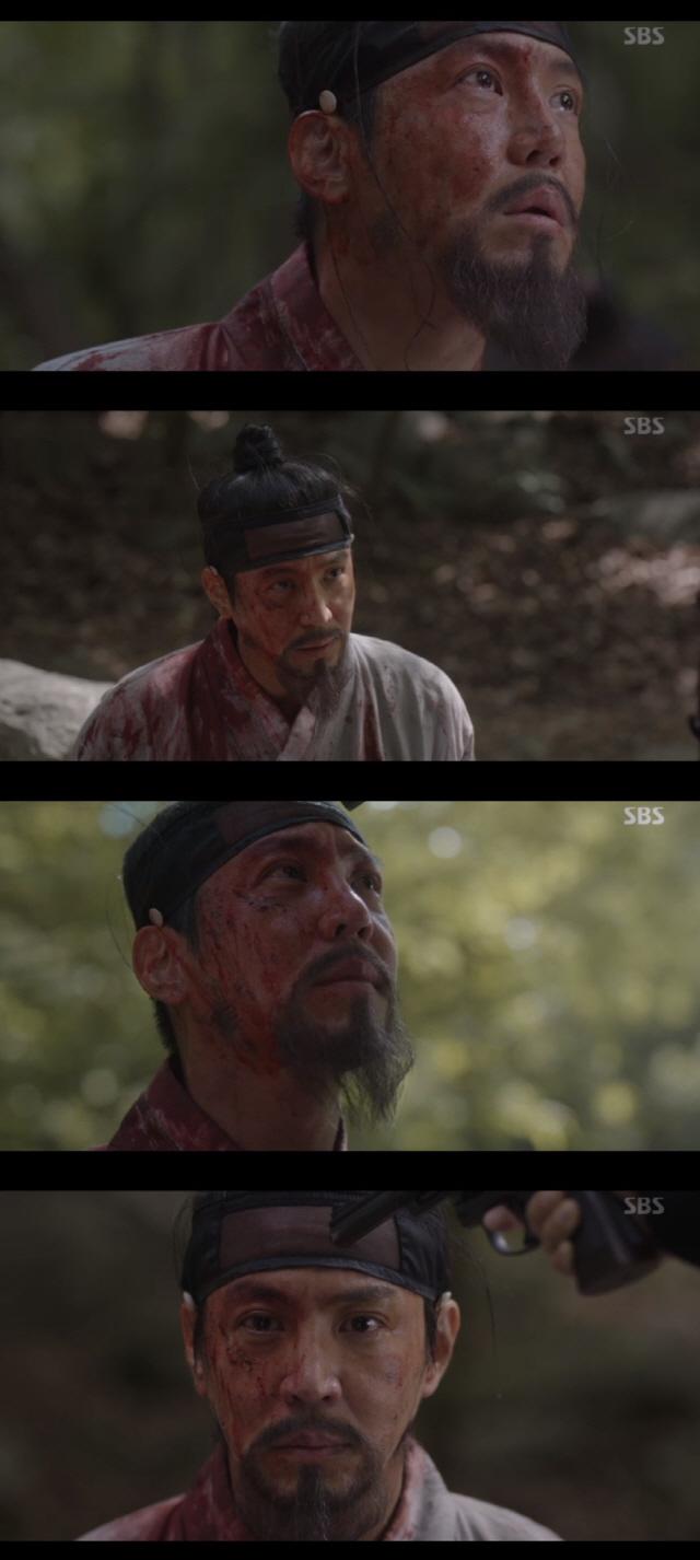 '녹두꽃' 최원영, 나라 향한 강직한 신념으로 스스로 죽음 택했다
