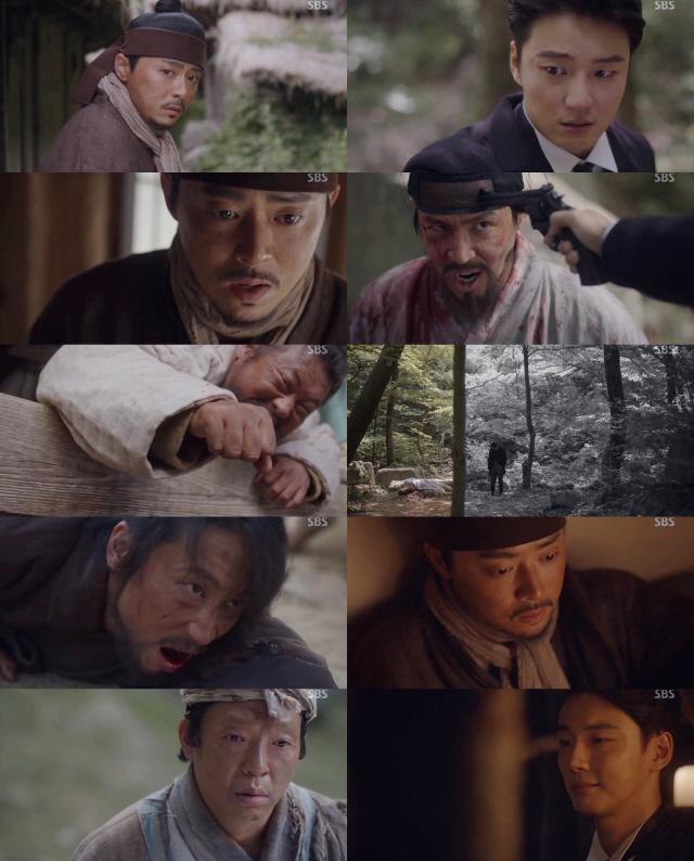'녹두꽃' 독기 조정석vs폭주 윤시윤, 돌이킬 수 없는 형제 운명