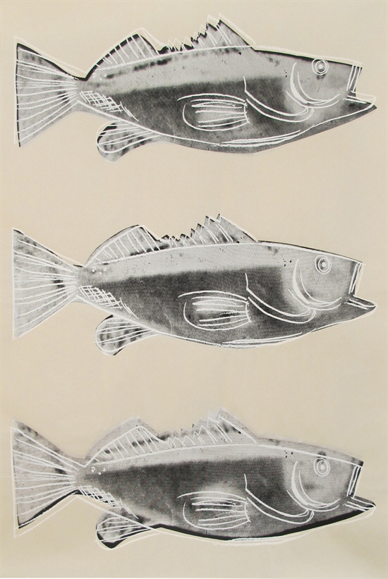 앤디 워홀이 '물고기'도 그렸네!
