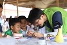 현대ENG, 라오스에 '새희망학교' 기증
