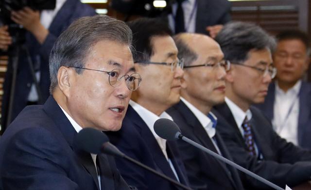 文대통령 '한국 기업 피해 발생시 우리도 필요한 대응'