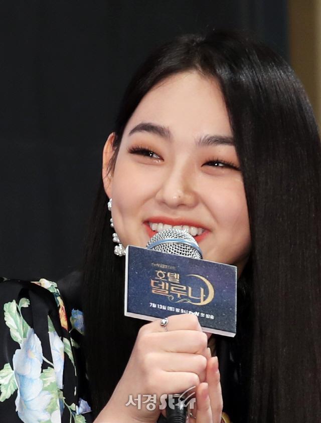 미나, 미소 살짝~ (호텔 델루나 제작발표회)