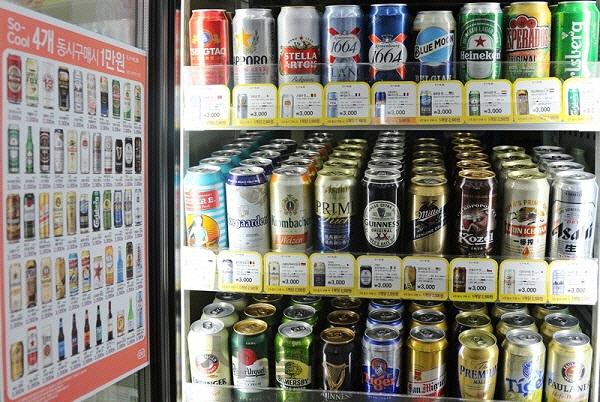 '일본 제품 불매운동 영향?'...마트·편의점서 日 맥주 판매량 감소