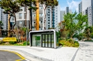 SK건설, 업계 최초로 통학버스대기 청정공간 '클린에어 스테이션' 운영