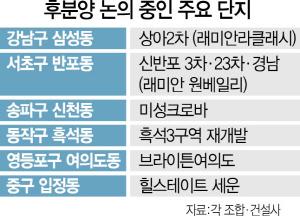 '후분양할 이유 없어졌다'…퇴로 막힌 재건축단지 우왕좌왕
