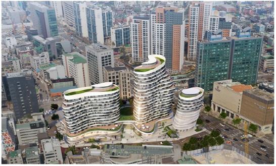 '공공주택 기부채납 첫 사례'…역삼 스포월드 부지에 임대주택 22가구