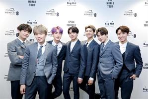 BTS, 포보스 선정'세계서 가장 수입 많은 유명인' 43위 올라