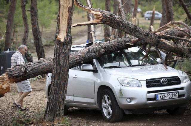 단 20분 폭풍우에...그리스서 7명 사망