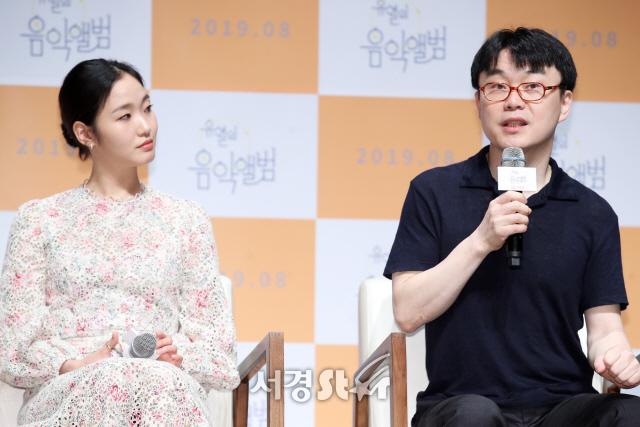 김고은-정지우 감독, '은교'의 인연! (유열의 음악앨범 제작보고회)