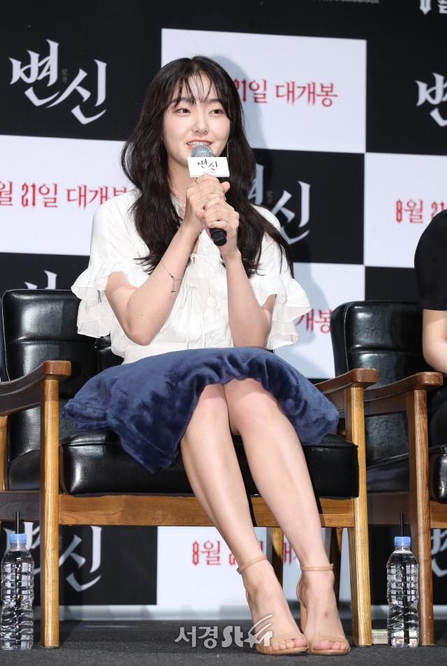 김혜준, 심쿵 비주얼로 인사 (변신 제작보고회)