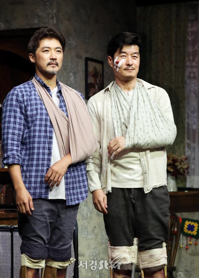 김상중-안재욱, 작가 '폴 셸던' (미저리 프레스콜)
