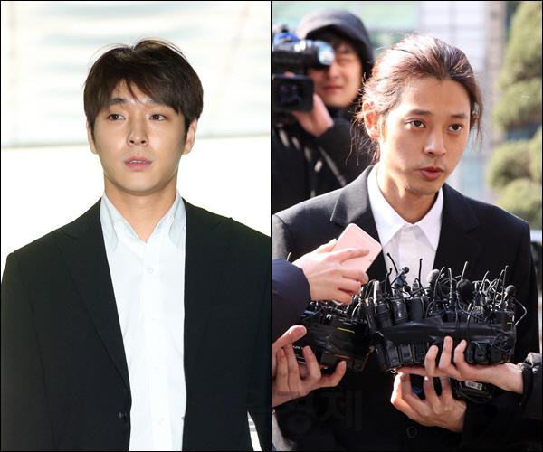 [종합] 집단성폭행 첫재판, 정준영 '합의했다' 최종훈 '성관계 없었다'