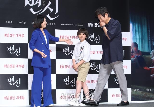 성동일X배성우 '변신'...올 여름 가장 무서운 공포 영화로 등극할까