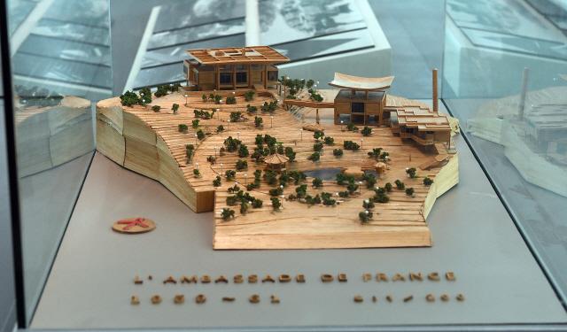 [건축과 도시-김중업 건축박물관] 한옥 처마선 살린 '주한 프랑스대사관'