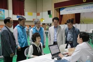 홍재은 NH생명 대표, 옥천군 무료 진료 봉사 참여
