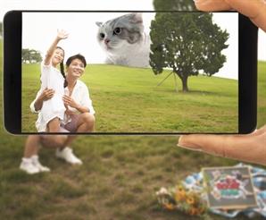 거대 'AR 고양이'와 찰칵...SKT '5G 클러스터' 만든다